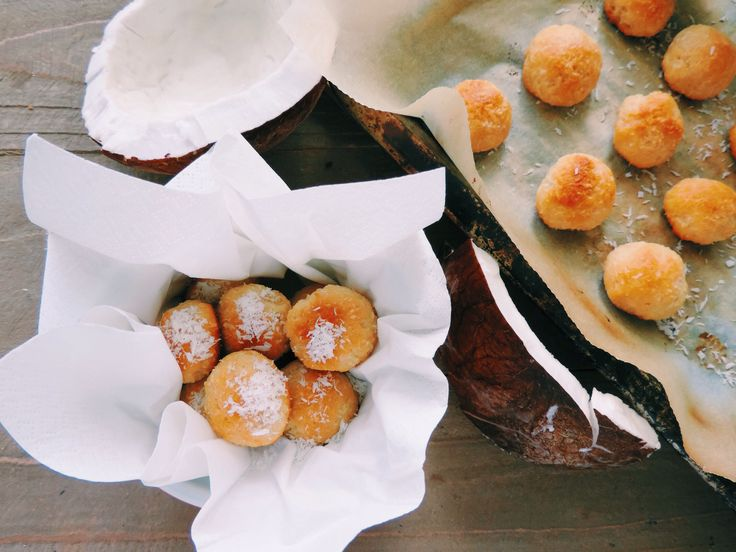 Cottage cheese coconut balls