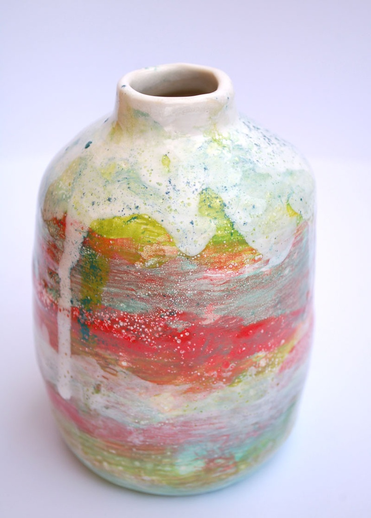 Esther griffith my work ceramics pinterest pottery for Ceramic vase ideas