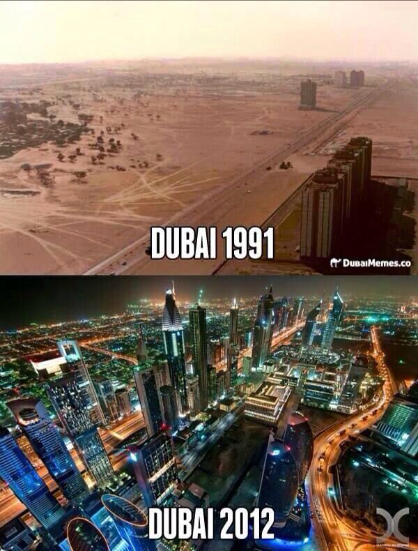 dubai uae before and after uae dubai pinterest