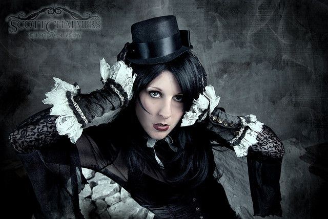 Nitrogene Steampunk/victorian shoot by Scott Chalmers Photography, via Flickr