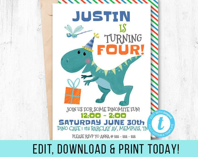 Dinosaur Birthday Party Invitation573 X 768 61 8 Kb Www Invita Dinosaur Birthday Party Invitations Dinosaur Party Invitations Dinosaur Birthday Invitations