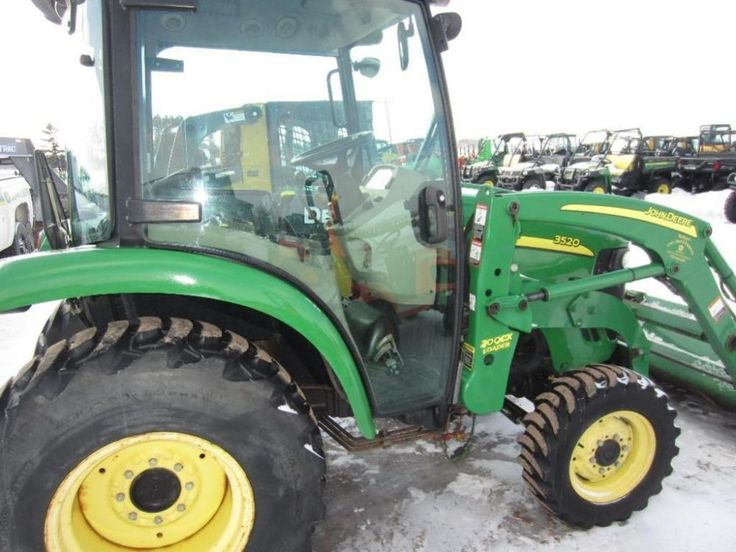 John Deere 3520 - Online Only Auction Ending Monday, February 16, 2015. Mason, WI. #auction #wisconsin