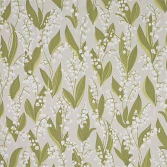 Lily of the valley wallpaper from Sandbergs is a fun and romantic design that comes in three different colors, grey, black and beige.