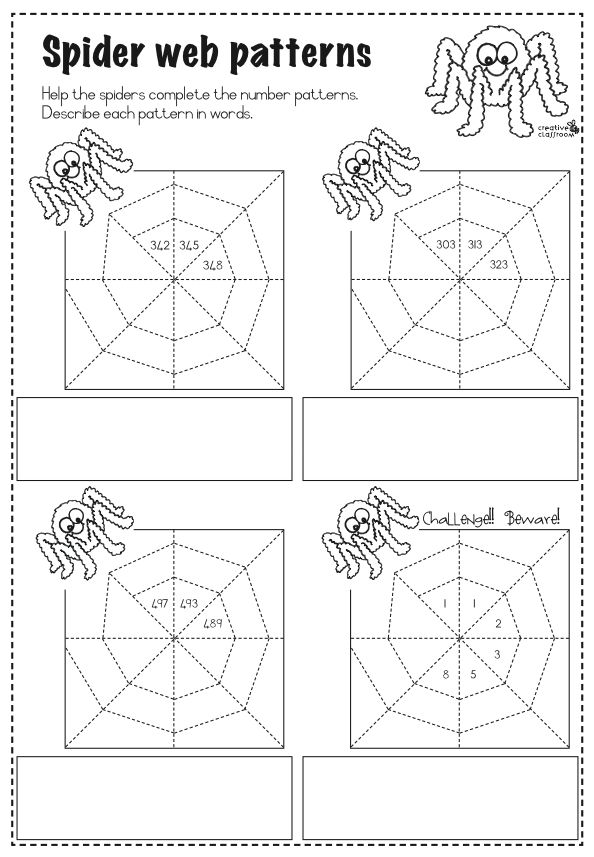"""FREE MATH LESSON - """"SpiderWeb Number Patterns"""" - Go to The Best of Teacher Entrepreneurs for this and hundreds of free lessons.   http://thebestofteacherentrepreneurs.blogspot.com/2011/10/free-math-lesson-spider-web-number.html"""