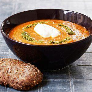 Tomatsuppe med kartofler og kikærter - Alt om kost
