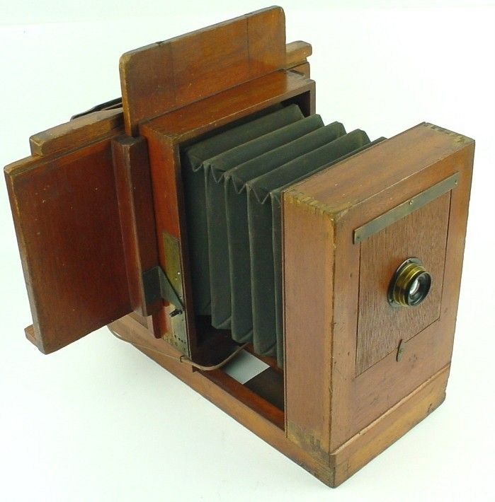 1880s Gennert Penny Picture Camera W Moving Mask B L Zeiss Protar Lens Rare | eBay