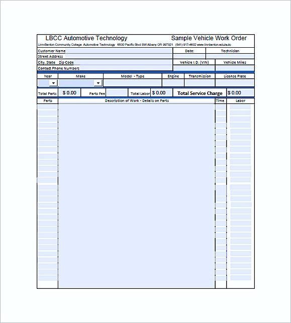 auto repair invoice templates pdf , Auto Repair Invoice Template , Auto Repair Invoice Template: Easy And Quick To Use Auto repair invoice template is a kind of free blank auto repair invoice forms which allow you to...