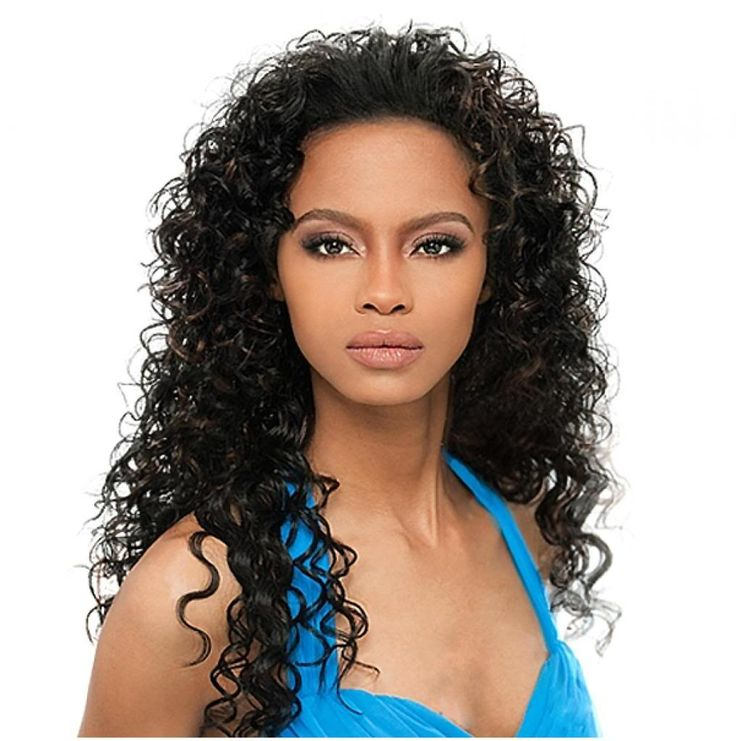 curly hair extension styles hairstyles weaves sew in weave hairstyles half wig 4933
