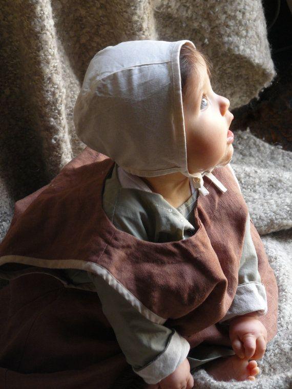 Costume médiéval d'été complet pour bébé par FeeFilochee sur Etsy, €75.00