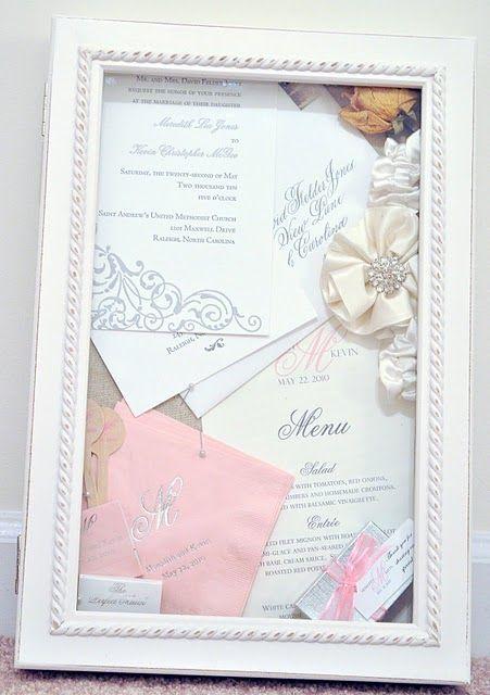 Wedding Shadow Box