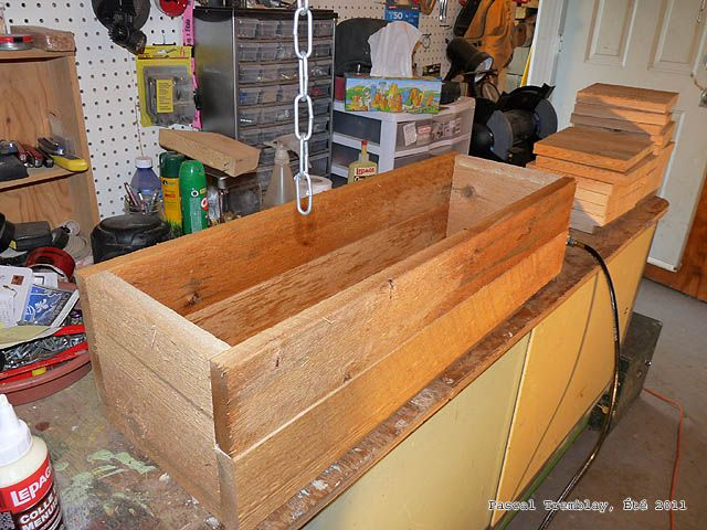 Les 25 meilleures id es de la cat gorie jardiniere bois pas cher sur pinterest bricolage - Jardiniere bois pas cher ...