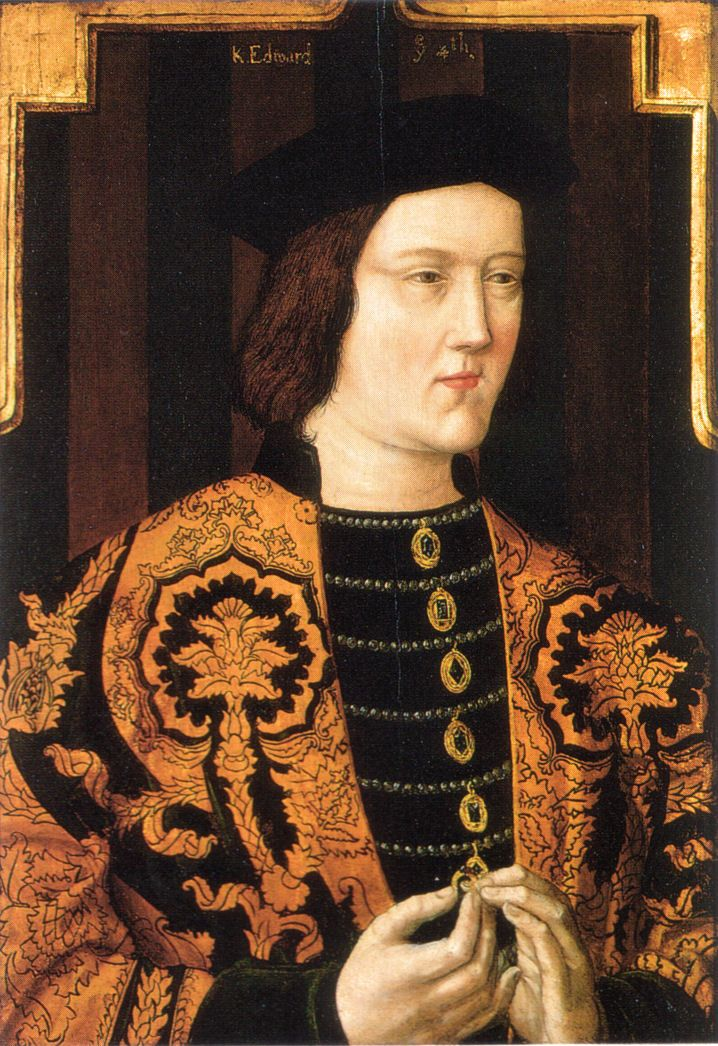 King Edward IV Husband of Elizabeth Woodville Grandfather of Henry VIII