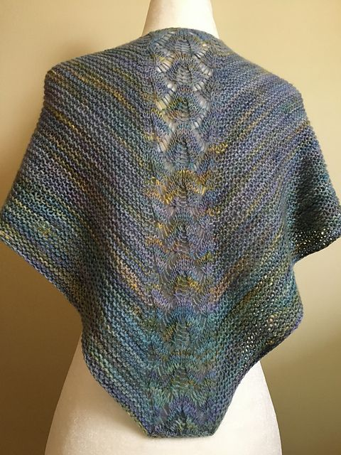 Skimming stones by Susan Ashcroft, knitted by JChan8 | malabrigo Finito in Indiecita