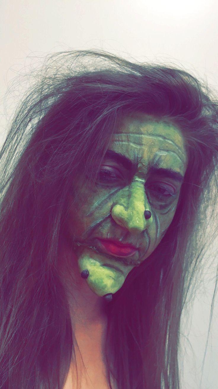 Witch makeup