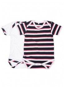 2-Pack Babygro Multi-colour