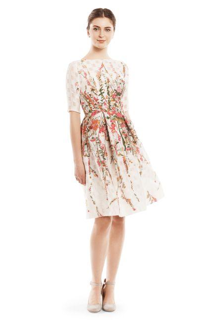 Lela Rose Woman Jacquard Dress Navy Size 2 Lela Rose Amazing Price Cheap Price Ms3v9