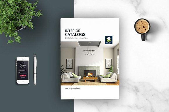 Interior Brochures / Catalogs by tujuhbenua on @creativemarket