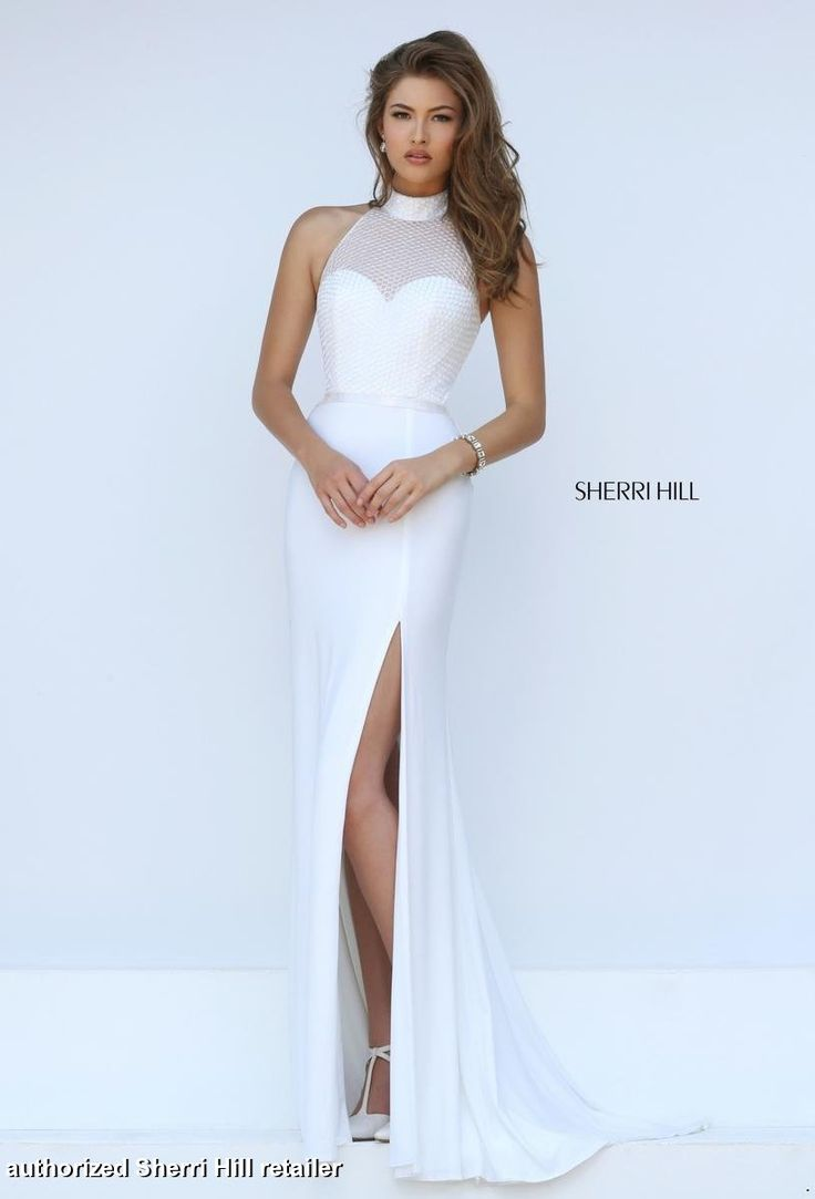 17 Best ideas about Sherri Hill White Dress on Pinterest | Short ...