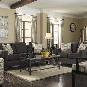 Decorations Tiles. Astounding Modern Charcoal Sofa Living Set On White Living…