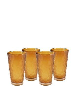 Impulse! Set of 4 Dwell Tumbler Glasses, Topaz