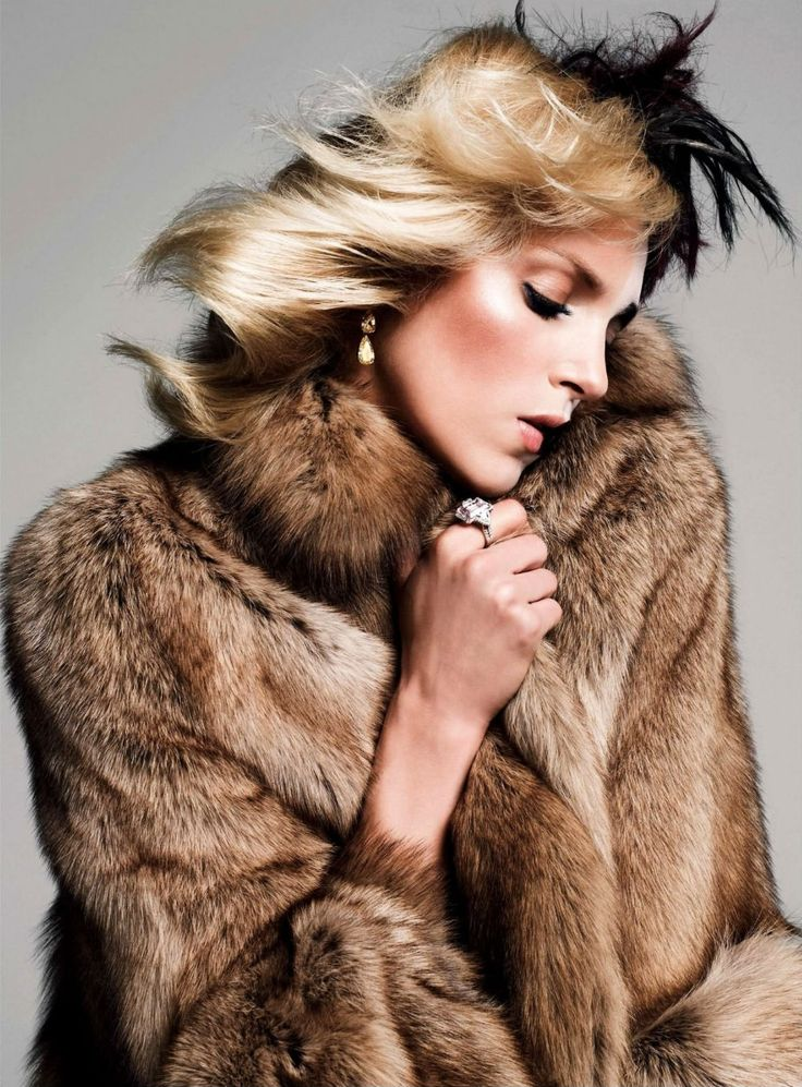 Anja Rubik by Inez & Vinoodh for Vogue Paris