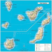 map of canary islands - Google Search