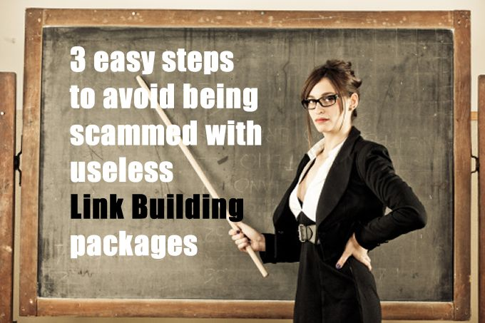 Link Building Packages, The Business of the Scammers.