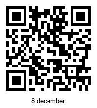 qrjulkalendern [licensed for non-commercial use only] / QR-kalendern med YouTube-filmer