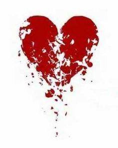 coeur brisé tattoo - Recherche Google