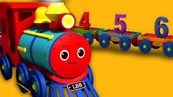 Numbers Song for Children - 1 to 20 Number Train | By LittleBabyBum | HD...