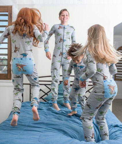 Dinosaur Union Suit Boys Amp Girls Onesie Pajamas T Rex On