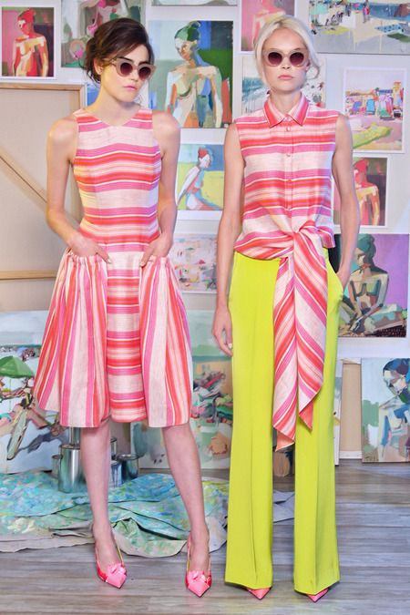 Christian Siriano | Resort 2015 Collection | Style.com ---- Great pocket construction on dress!