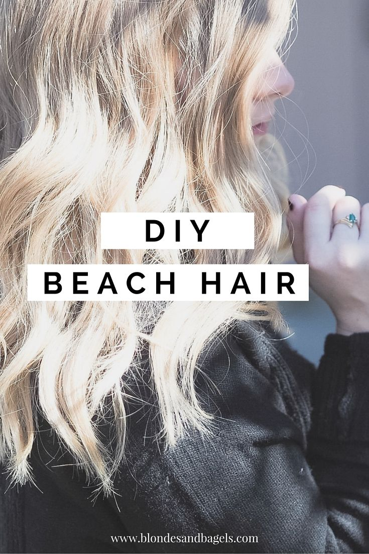 beach waves hairstyle