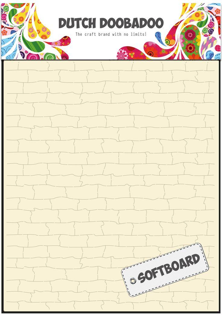 478.007.014 Dutch Doobadoo Softboard Art Bricks