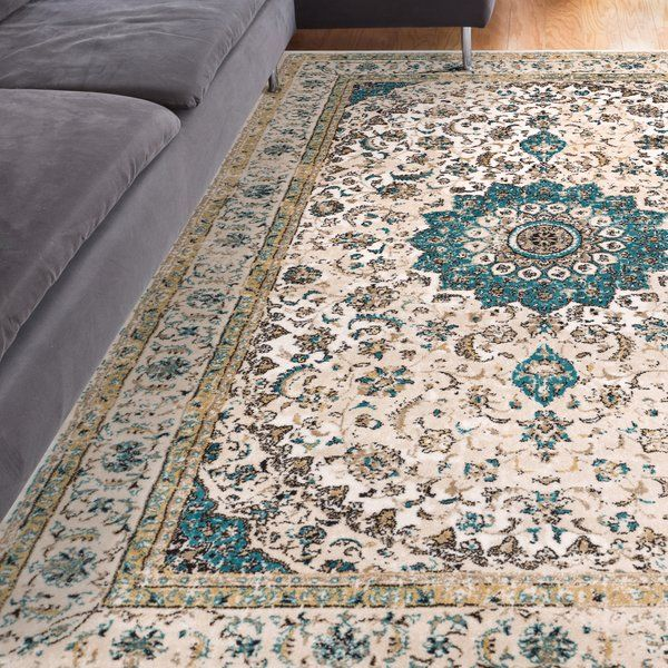 Well Woven Vintage Distressed Luxbury Mahal Medallion Beige Gold Area Rug With Vintage Looks And Upscale Mode Well Woven Modern Shabby Chic Oriental Area Rugs