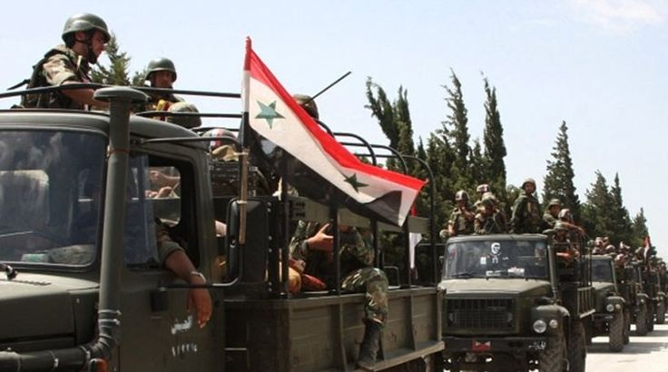 Ο συριακός στρατός προελαύνει στην επαρχία Χάμα