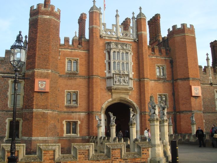 Entrance to Hampton Court Palace, Middlesex