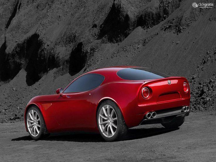 Papel de Parede - Alfa Romeo 8C Competizione