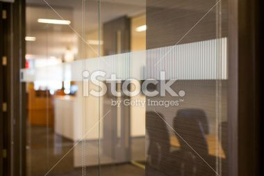 Conference Room Glass Wall Royalty Free Stock Photo