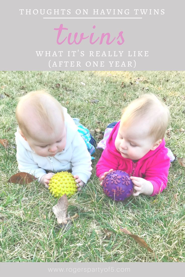 What it's really like to have twins... thoughts from a twin mom after surviving one year of twins!   twin mom   twin girls   twin hacks   mommy blogger