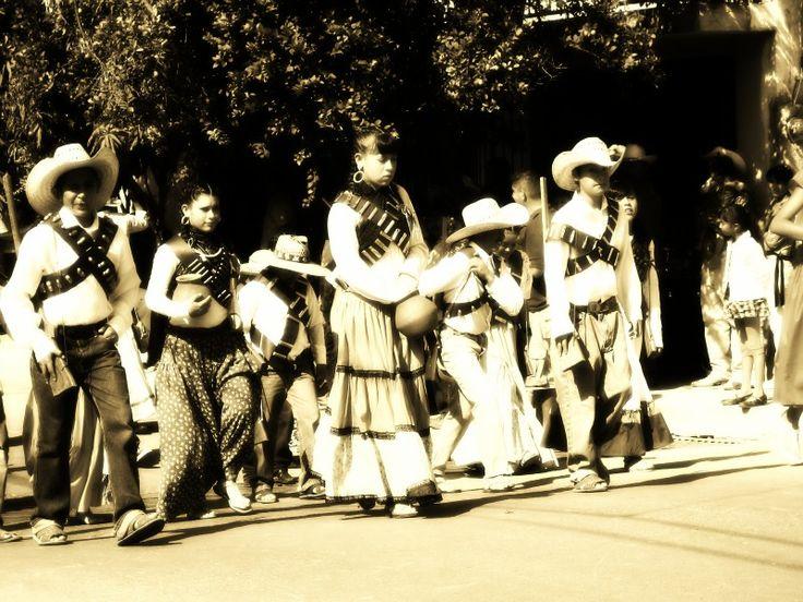 Desfile tradicional, 20 de Noviembre Cuquio, Jalisco