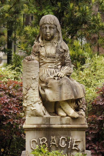 Bonaventure Cemetery, Savannah GA. Very touching.