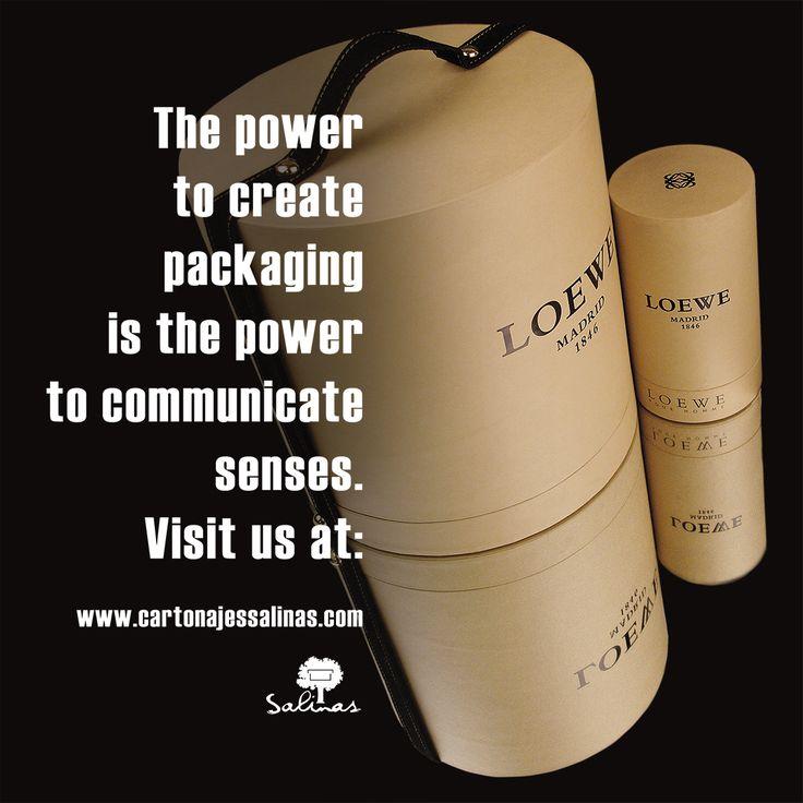 The Power of packaging. www.cartonajessalinas.com