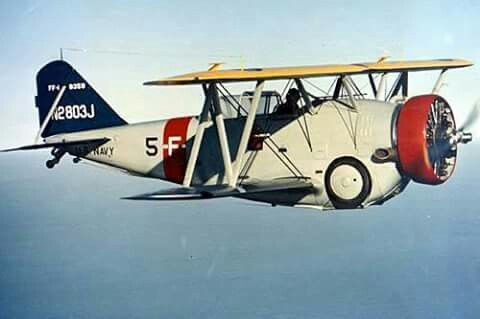 Grumman F2F Fighter Biplane