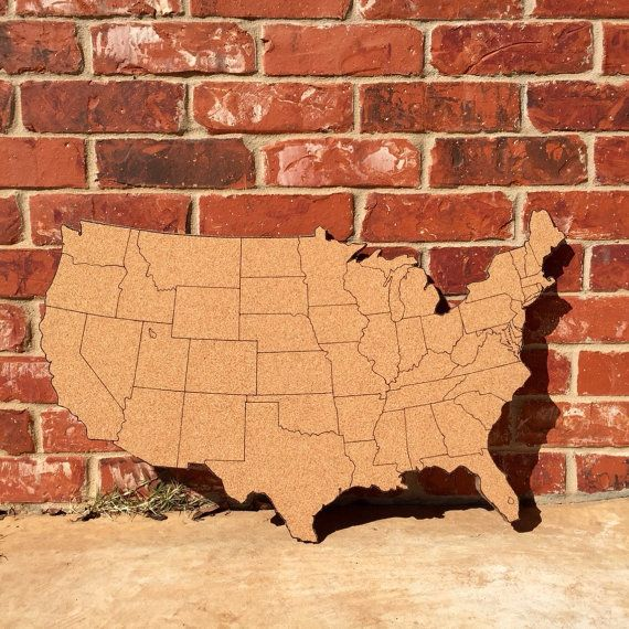 Best Cork Map Ideas On Pinterest Maps Embroidery Map And - Us map of states cork poster