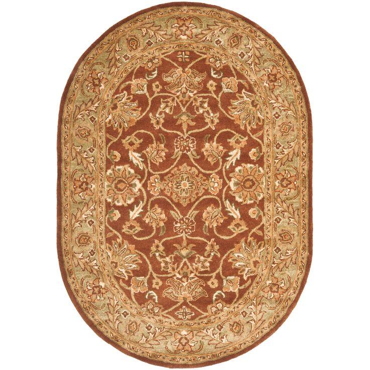 Safavieh Golden Jaipur Rust/Green Area Rug