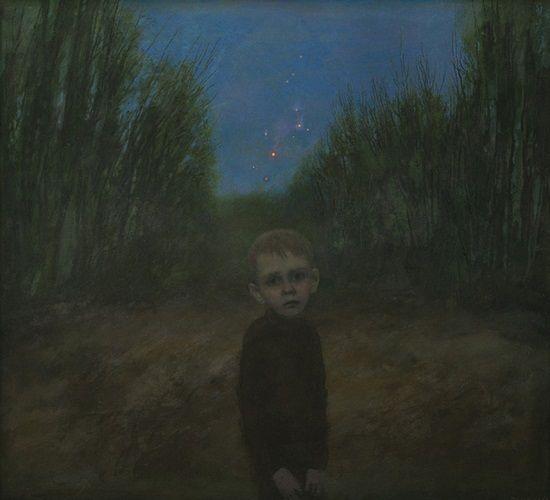 """""""Firework is Over"""" by Igor Melnikov, 2011. // son las búsquedas por emular a través de retratos, estos brincos de las emociones humanas que viajan a través de una iconografía de la fragilidad. // arte contemporáneo, pintura, contemporary art, artwork, oil painting."""