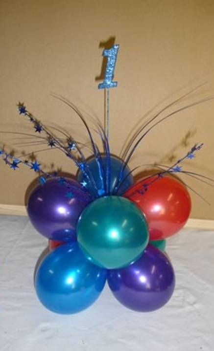 Best balloon wedding images on pinterest centerpieces