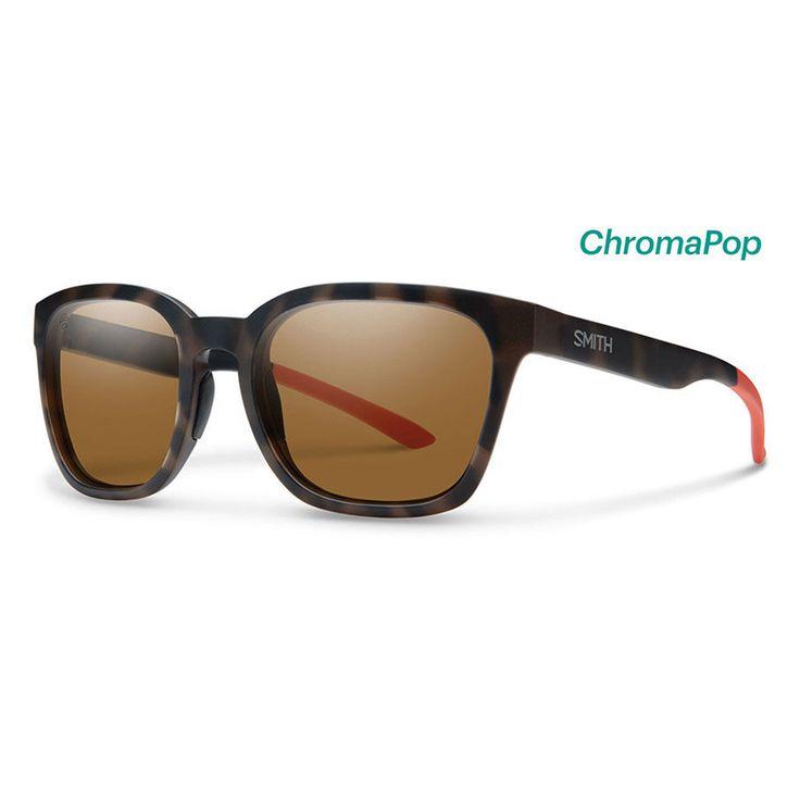 Smith Sunglasses Founder Howler Matte Tortoise ChromaPop Polarized Brown