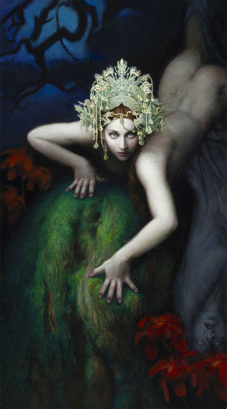Nymphes et Sirènes – Les envoutantes peintures de Chie Yoshii